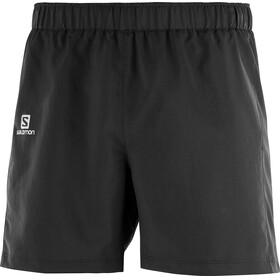 """Salomon Agile Running Shorts Men 5"""" black"""